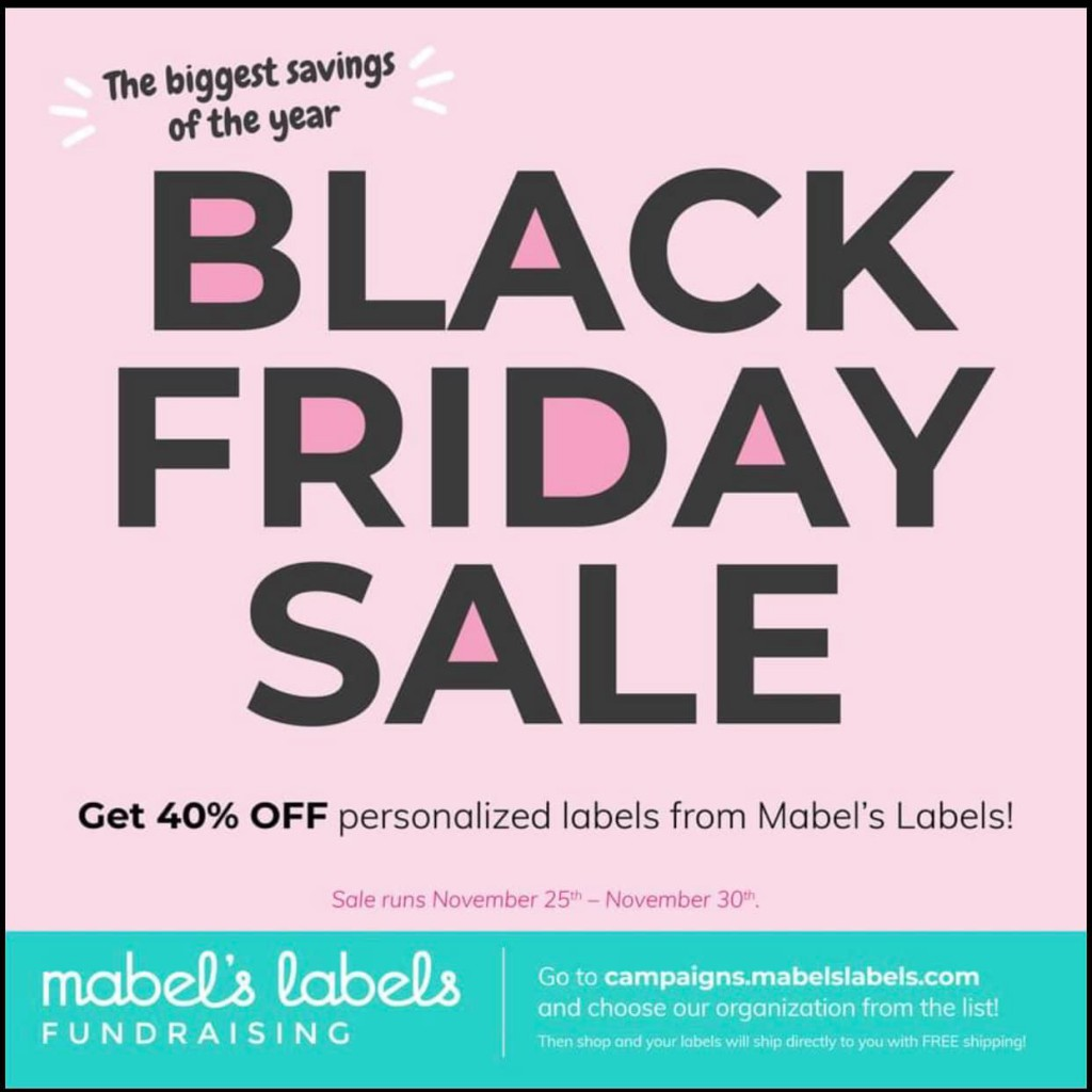 Mabel's Labels Black Friday 2020 Sale