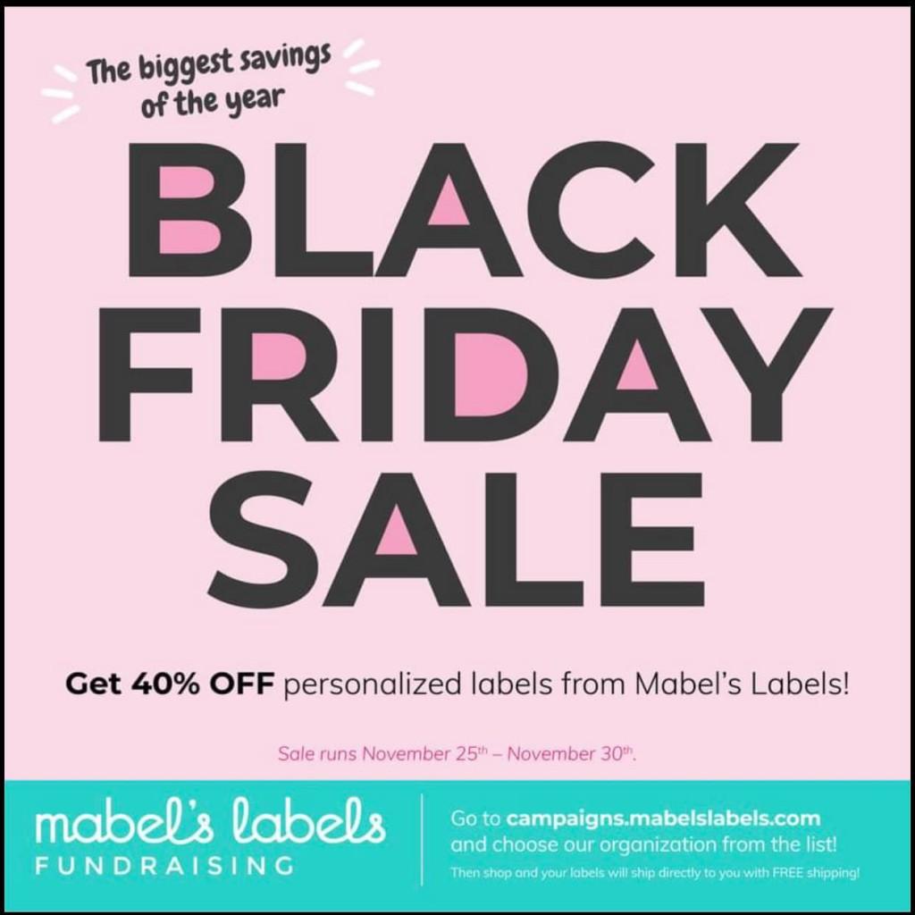 Mabel's Labels Black Friday 2020 Sale