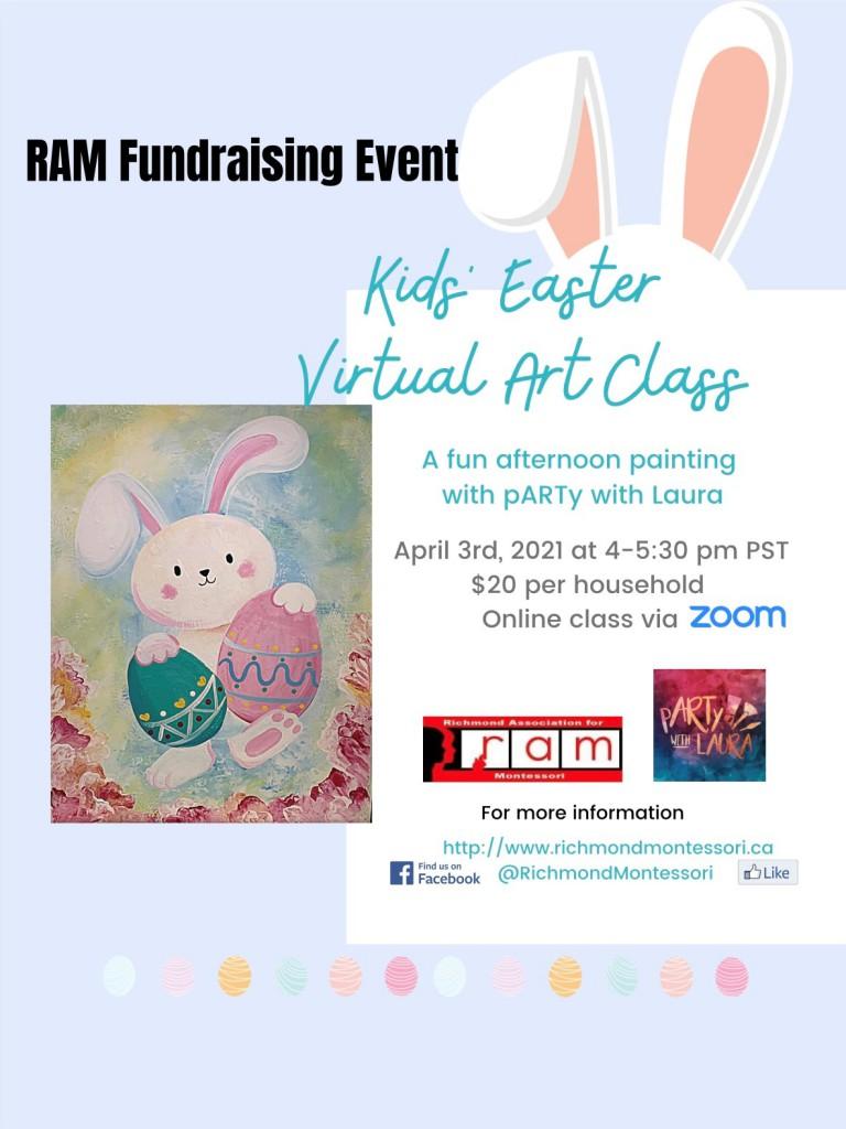 RAM ART fundraising